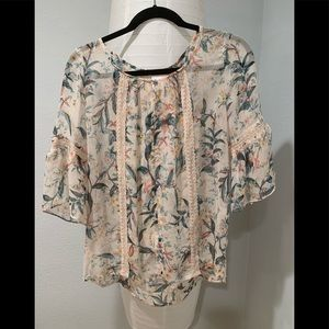 Lauren Conrad LC blouse top new with tags medium